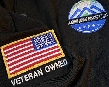 Doran Home Inspections is a veteran-owned company.